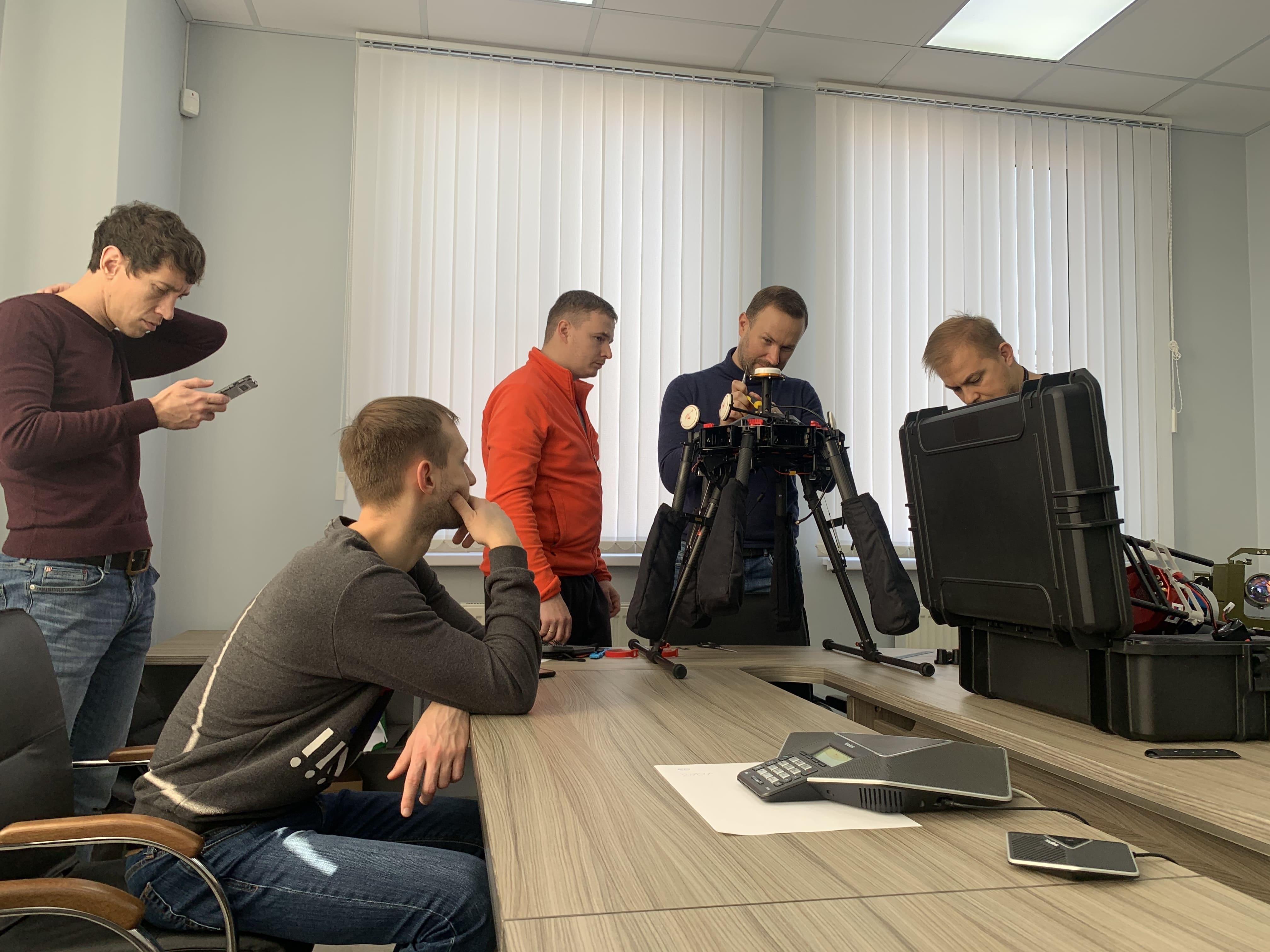 При содействии ИППК КубГУ состоялось обучение по программе использования воздушных лазерных сканеров для беспилотников